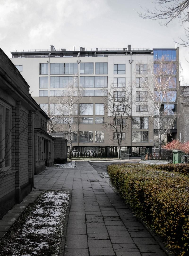 Daugiabutis gyvenamasis namas A. Vivulskio g. Vilniuje